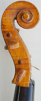 Dancemaster Violin - Pochette Baroque, head side