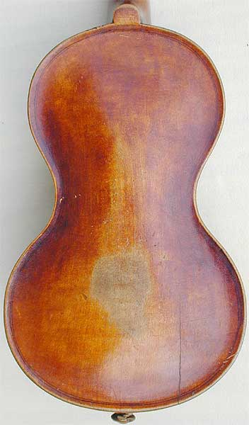 Chanot Type Dancemaster Violin, back