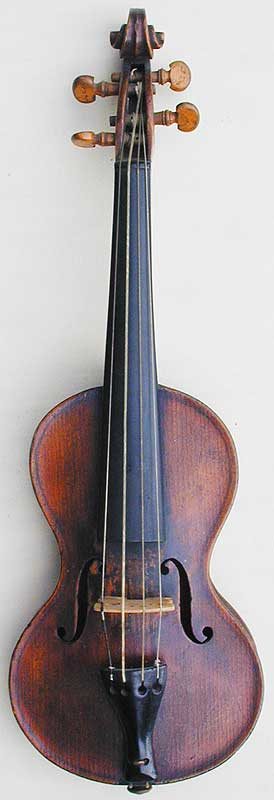 Chanot Type Dancemaster Violin, front