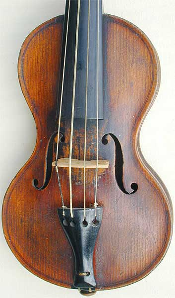 Chanot Type Dancemaster Violin, top