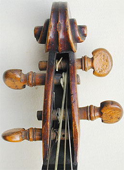 Chanot Type Dancemaster Violin, head front