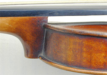 Chanot Type Dancemaster Violin, heel