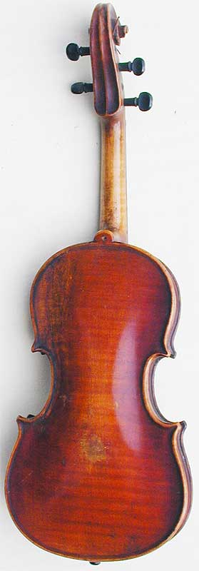 1/32 Child's Violin, back