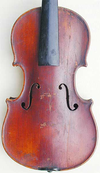 1/32 Child's Violin, top