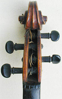 1/32 Child's Violin, head front