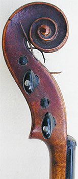 1/32 Child's Violin, head side