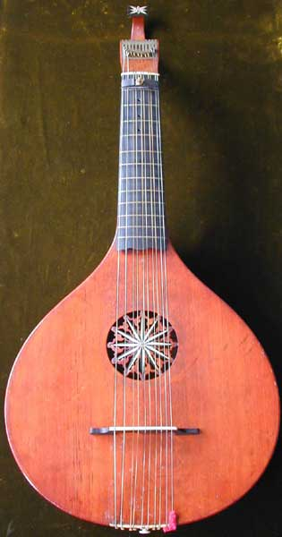 Early Musical Instruments, antique English Guitar by Preston London
