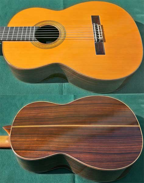 Early Musical Instruments, Classical Guitar by Ignacio Fleta dated 1996