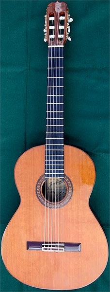 Early Musical Instruments, Classical Guitar by Jos� Ramirez dated 1985
