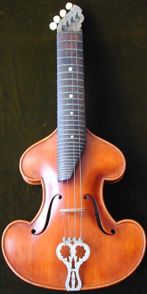 Early Musical Instruments, antique Streichmelodeon, Violin Cittern by Enders