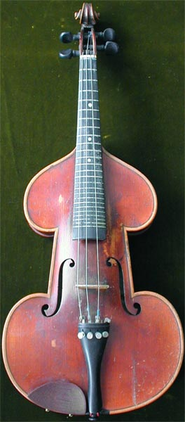 Early Musical Instruments, antique Violin Zither or Cittern by V. Bestgen