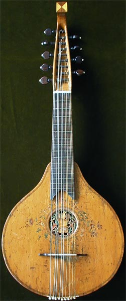 Early Musical Instruments, antique English Cittern by C. Mason